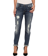 7 For All Mankind - Josefina w/ Rolled Hem in Slim Illusion Aggressive Atlas Blue 2