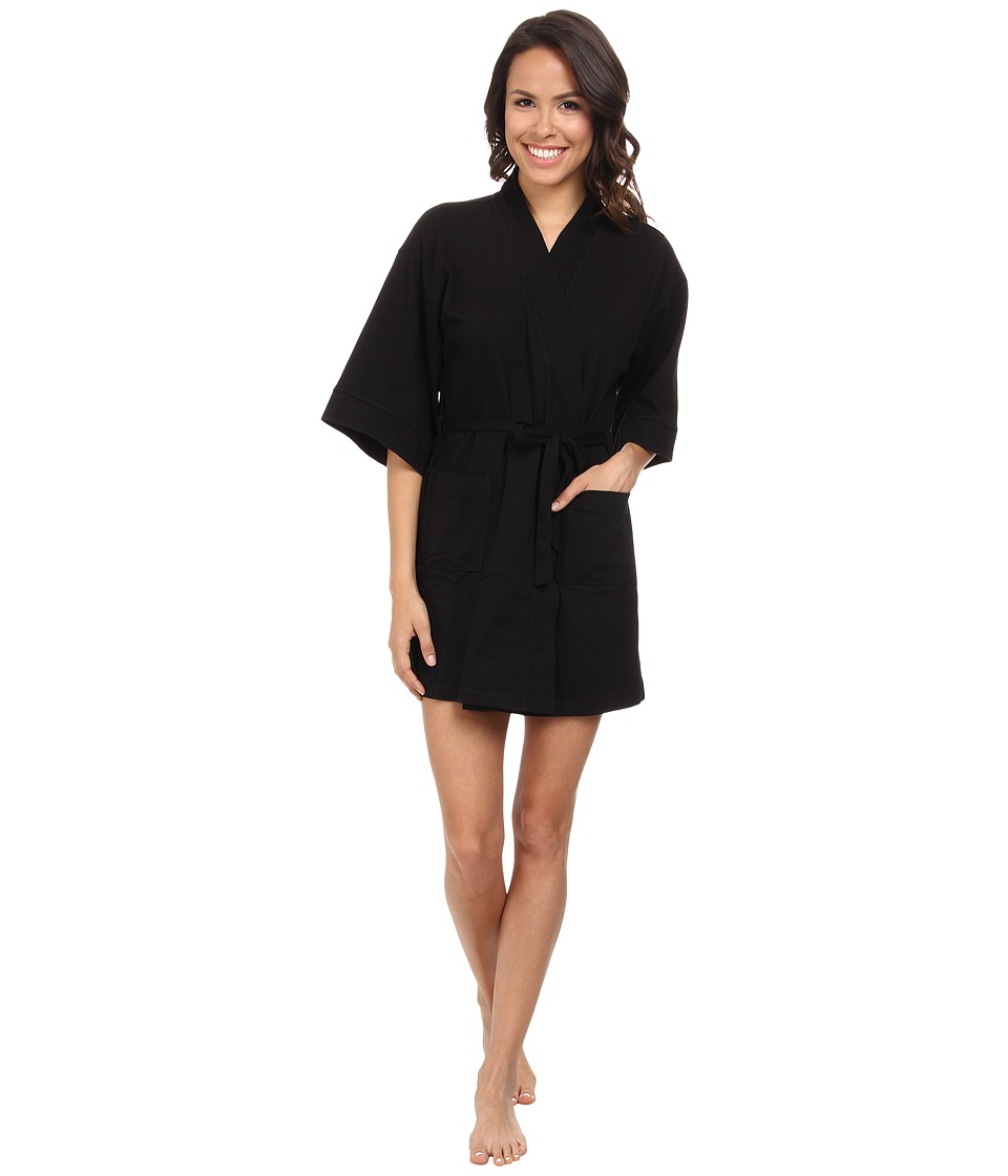 N by Natori N Natori Aura Robe 35 Black Womens Robe