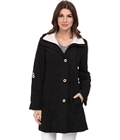 Rainforest - Packable Slot Button Coat w/ Roll Tab Sleeve