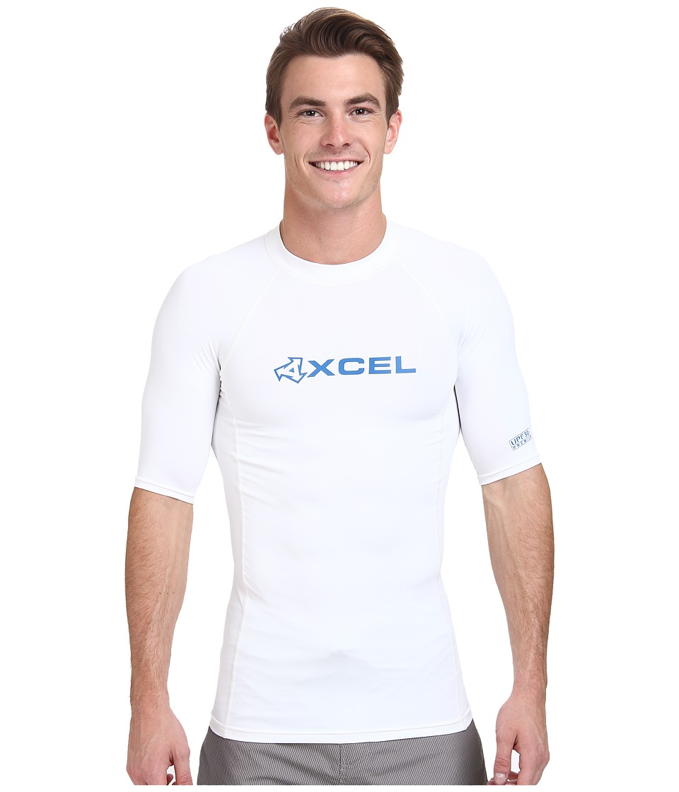 XCEL Wetsuits Debsen Xplorer S/S UV White Mens Swimwear