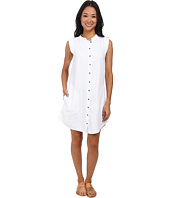 Mod-o-doc - Linen Rayon Button Front Tank Dress