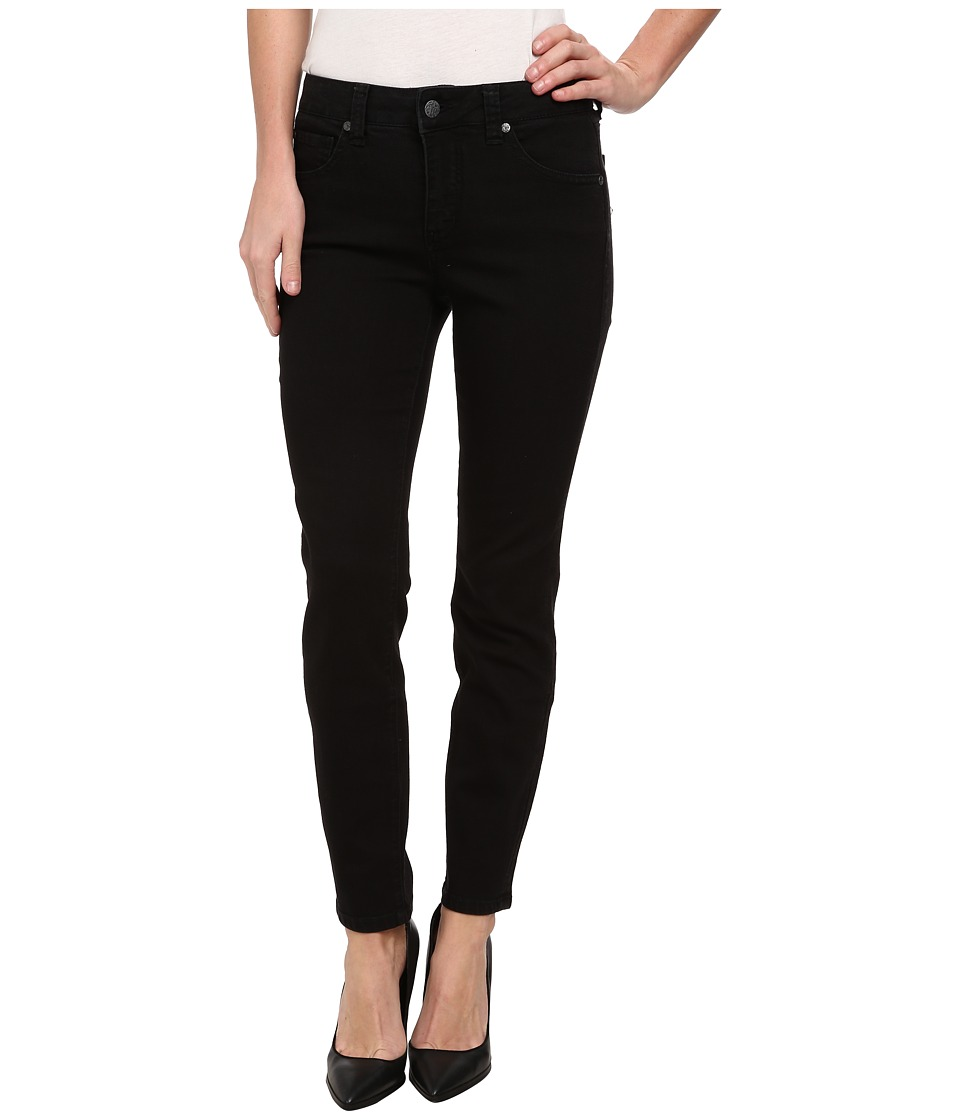 Miraclebody Jeans Sandra D. Skinny Ankle in Jet Jet Womens Jeans