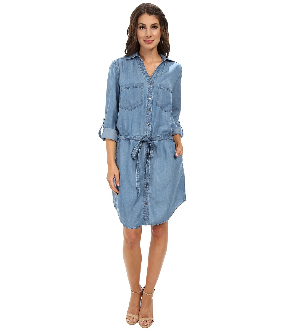 Miraclebody Jeans - Dixie Tencel Denim Dress w/ Body-Shaping Inner Shell (Santa Cruz) Women's Dress