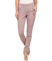 Jag Jeans - Nora Pull-On Skinny Pigment Dyed Knit Denim in Plum Ice