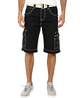 Rock Revival - Cargo Short in Black/White