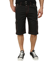 Rock Revival - Cargo Short in Black/Red