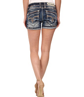 Rock Revival - Bruna H3 Short in Acid Wash