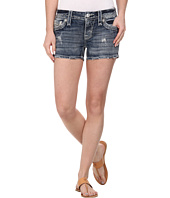 Rock Revival - Clover H8 Short in Dark Indigo