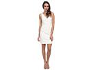 Donna Morgan Lulu V-Neck Lace Dress (Ivory)