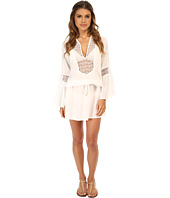 Vix - Solid White Bella Tunic Cover-Up