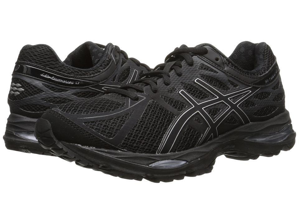 ASICS Gel Cumulus 17 Black/Silver/Onyx Womens Running Shoes