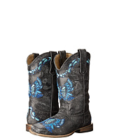 Roper Kids - Sanded Leather w/ Butterfly Embroidery (Toddler/Little Kid)