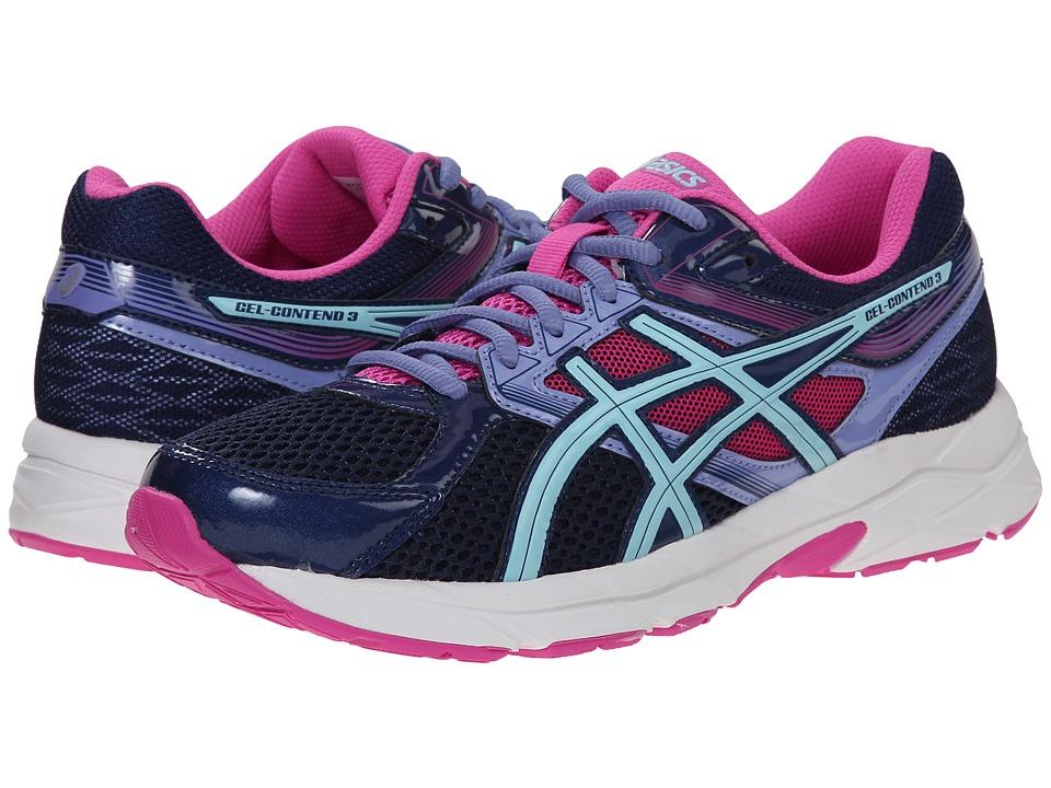 ASICS - GEL-Contend 3 (Indigo Blue/Aqua Splash) Womens Running Shoes