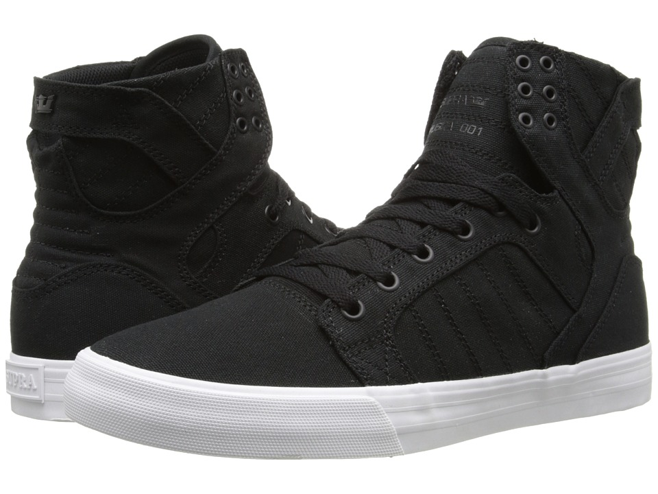 Supra Skytop D Black/White Mens Skate Shoes