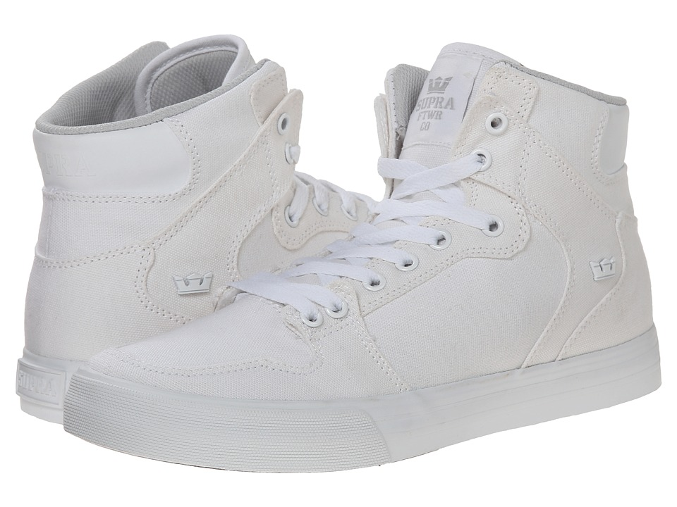 Supra Vaider D Off White/White Mens Skate Shoes