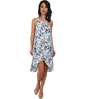 Sam Edelman - Photo Floral Racer Back Detail High Low Dress