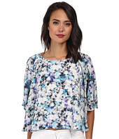 Sam Edelman - Photo Floral 3/4 Dolman Sleeve Flounce Tee