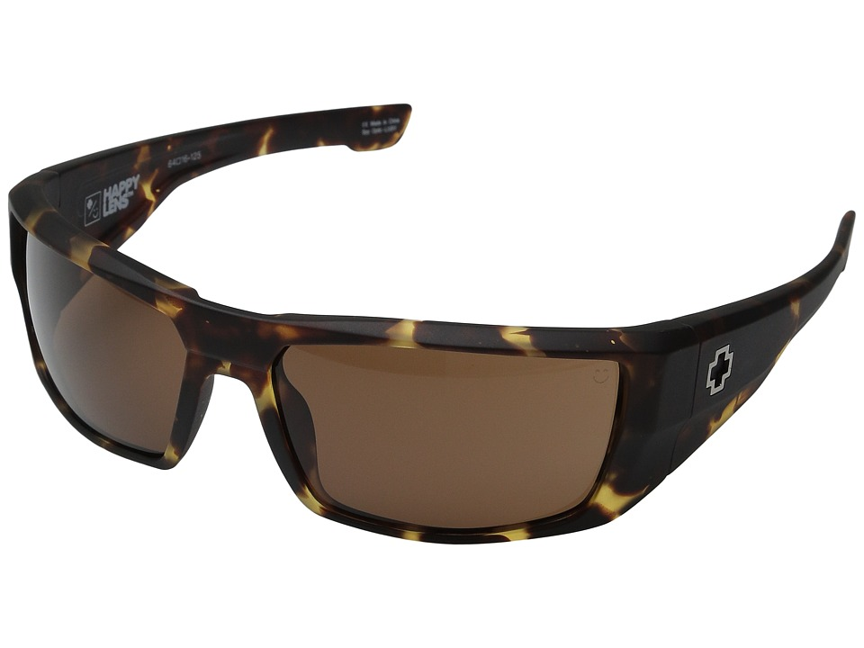 Spy Optic - Dirk (Matte Camo Tort/Happy Bronze) Sport Sunglasses