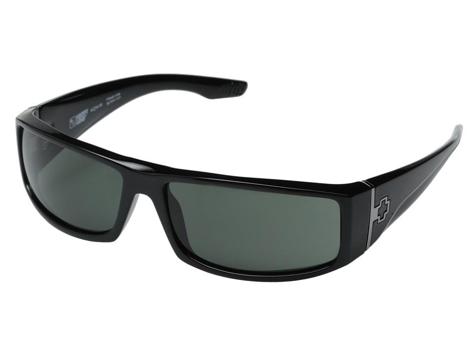 Spy Optic Cooper (Black/Happy Gray Green) Sport Sunglasses