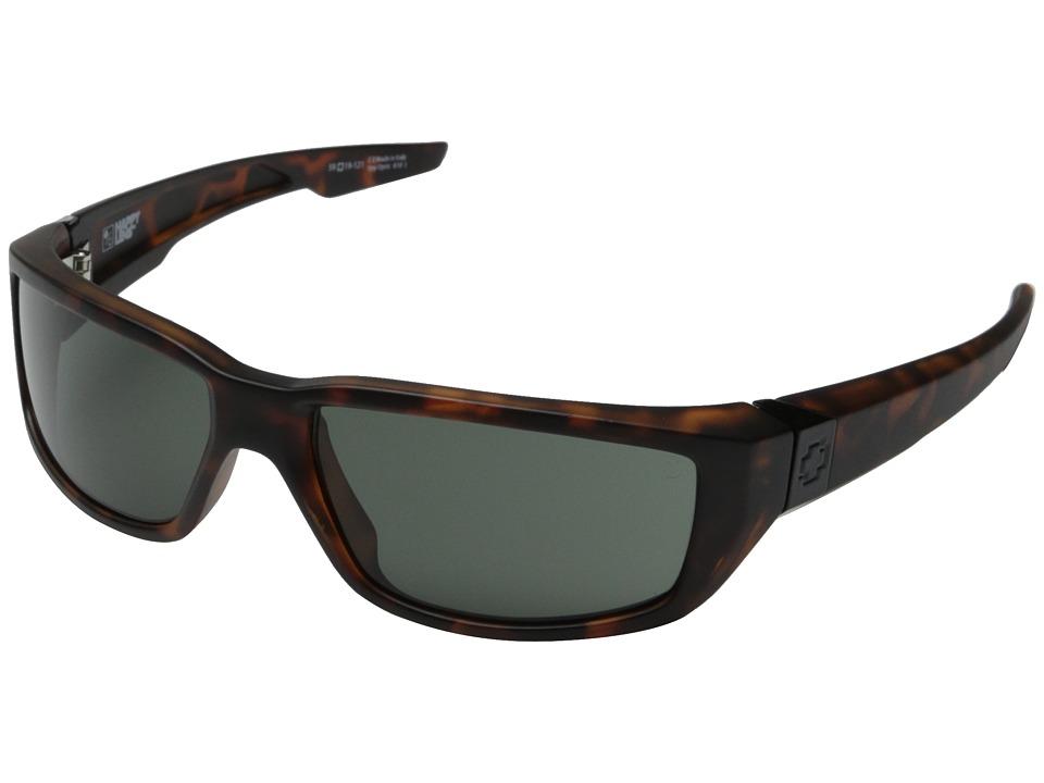Spy Optic Dirty Mo (Matte Camo Tort/Happy Gray Green) Sport Sunglasses
