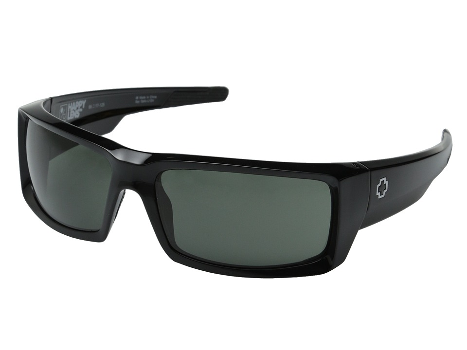 Spy Optic - General (Black/Happy Gray Green) Sport Sunglasses