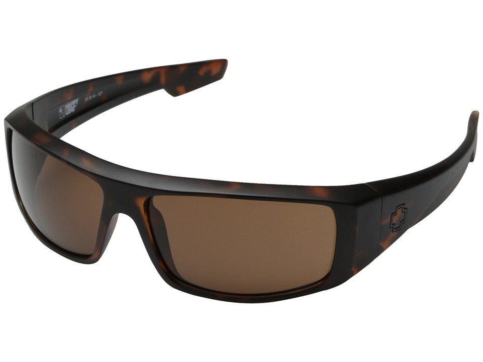 Spy Optic Logan (Matte Camo Tort/Happy Bronze) Sport Sunglasses