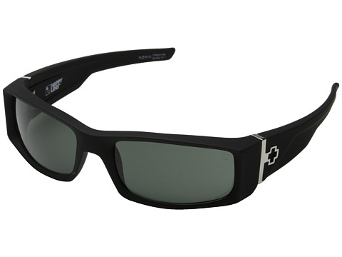 Spy Optic Hielo - Soft Matte Black/Happy Gray Green