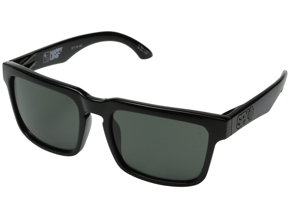 Spy Optic - Helm (Black/Happy Gray Green) Fashion Sunglasses