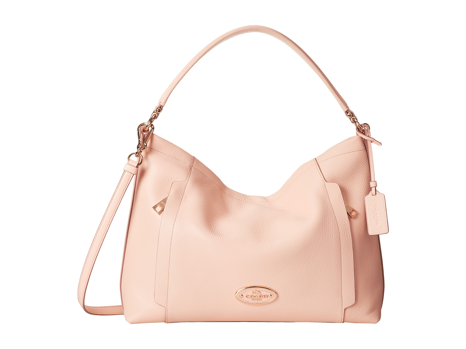 coach pebbled leather scout hobo zapposcom free