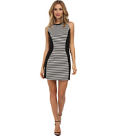 Jack by BB Dakota - Clarence Stripe and Solid Ponte Dress