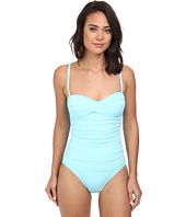 Tommy Bahama - Pearl Over The Shoulder Twist Front One-Piece
