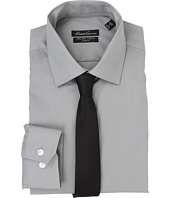 Kenneth Cole New York - L/S SlimFit Non-Iron Solid Dress Shirt