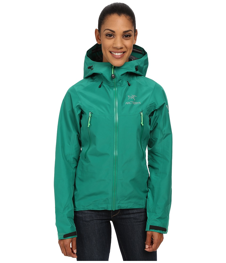 Arcteryx Beta LT Jacket Emerald Jade Womens Coat