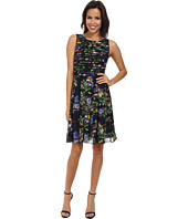 Adrianna Papell - Printed Strapping Fit and Flare
