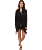 Tommy Bahama - Knit & Chiffon Cardigan Cover-Up