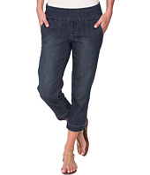 Jag Jeans - Hope Pull-On Crop Slim Fit Comfort Denim in Blue Shadow