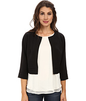 Adrianna Papell - Tuck Detail Swing Jacket