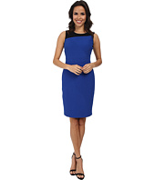 Adrianna Papell - Scoop Neck Sleeveless Dress
