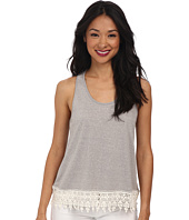 Jack by BB Dakota - Nieve French Terry & Crochet Trim Tank