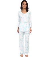 Carole Hochman - Printed 3/4 Sleeve Pajama