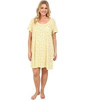 Carole Hochman - Plus Size Printed Sleepshirt