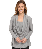 Midnight by Carole Hochman - Lounge Capsule Cowl Neck Top