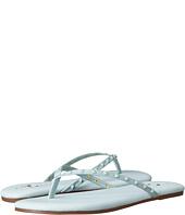 Yosi Samra - Roee Tonal Stud Soft Leather Flip Flop