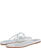 Yosi Samra - River Burnished Woven Flip Flop
