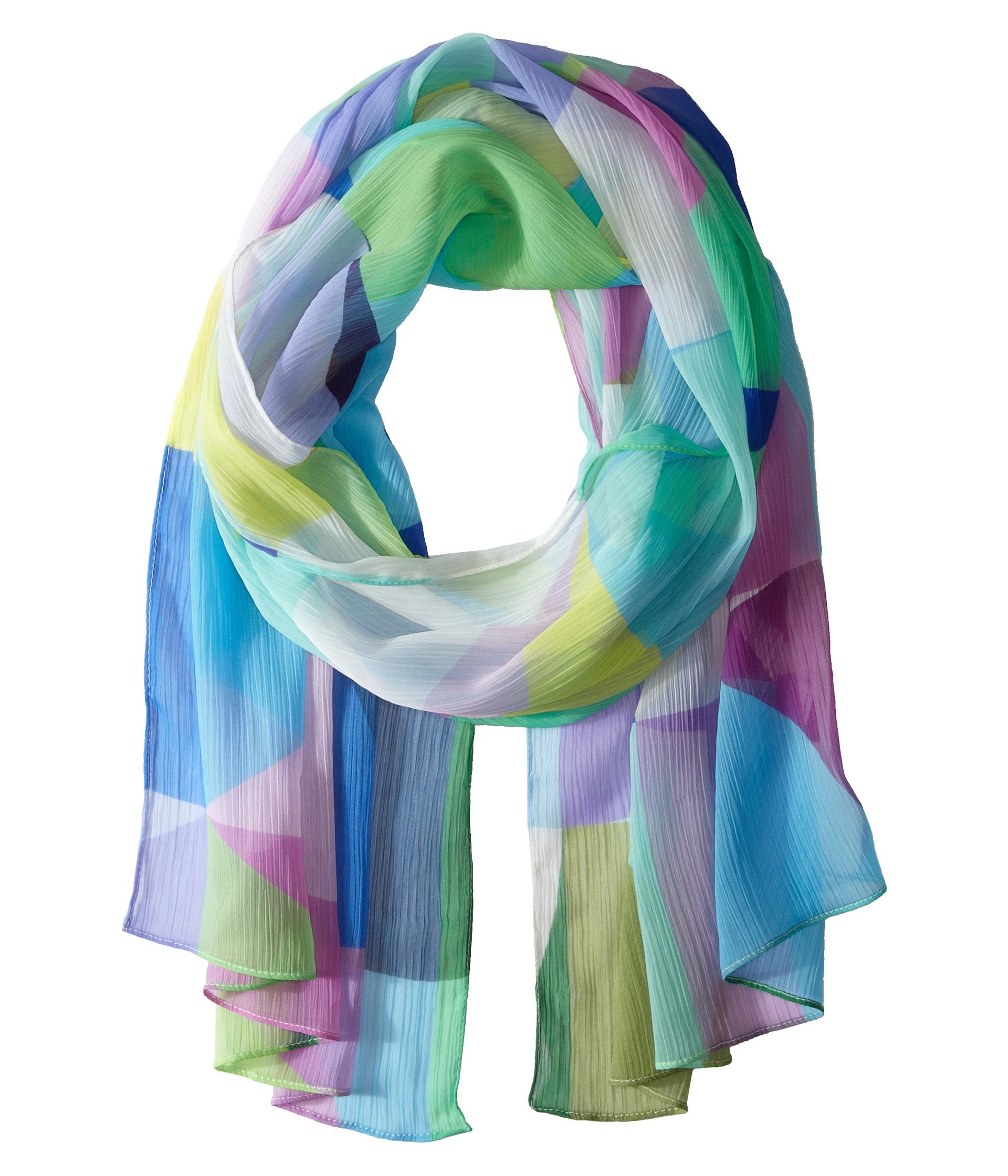 echo design dazed geo scarf turquoise zappos free