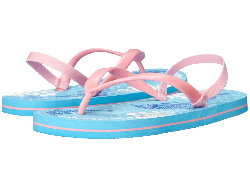 Crabbyclaws Oceana Toddler/Little Kid/Big Kid/Big Kid Pink/Light Blue Girls Shoes