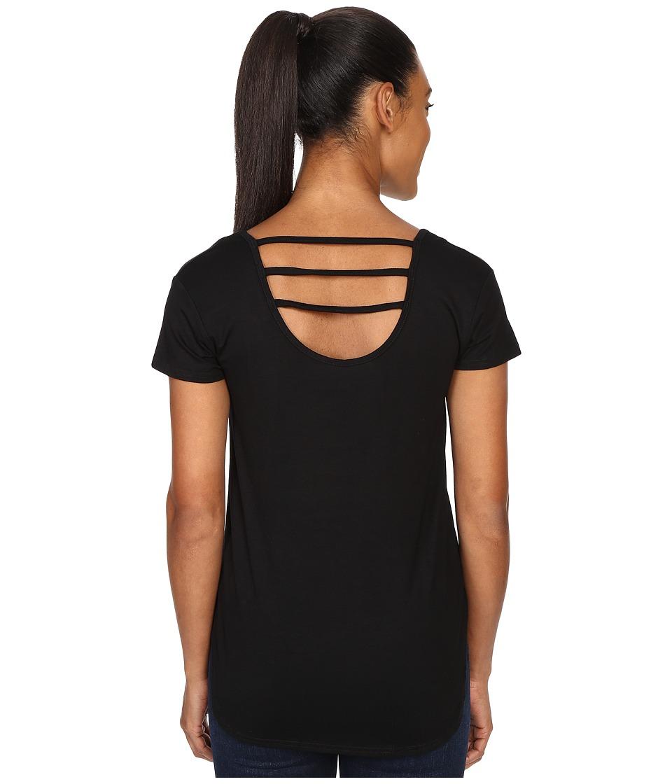 KAVU Cozumel Shirt Black Womens T Shirt