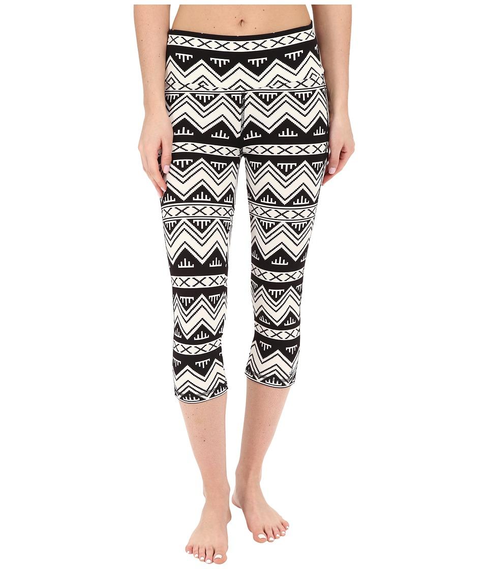 KAVU Cadence Chop BW Chevron Womens Casual Pants