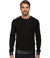 Kenneth Cole Sportswear - L/S Herringbone Crew Sweater