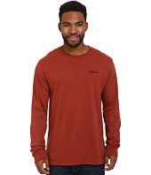 Patagonia - L/S P6 Logo Cotton T-Shirt